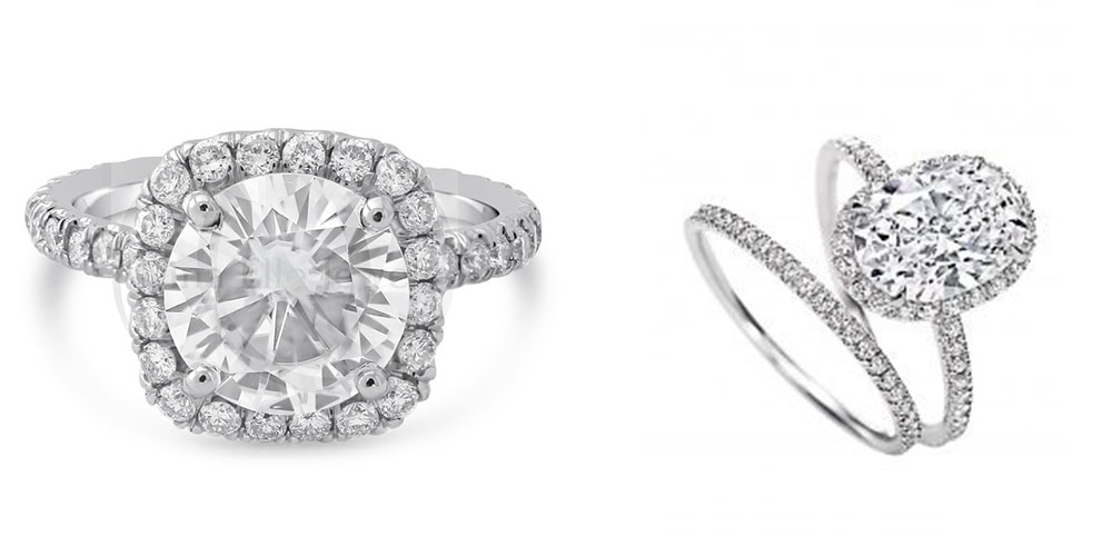 The Diamond Talk Engagement Ring
